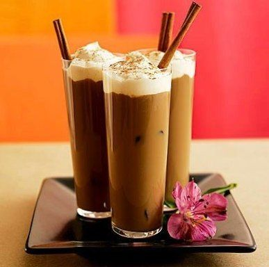 Cold coffee frappe. Cook at home.
