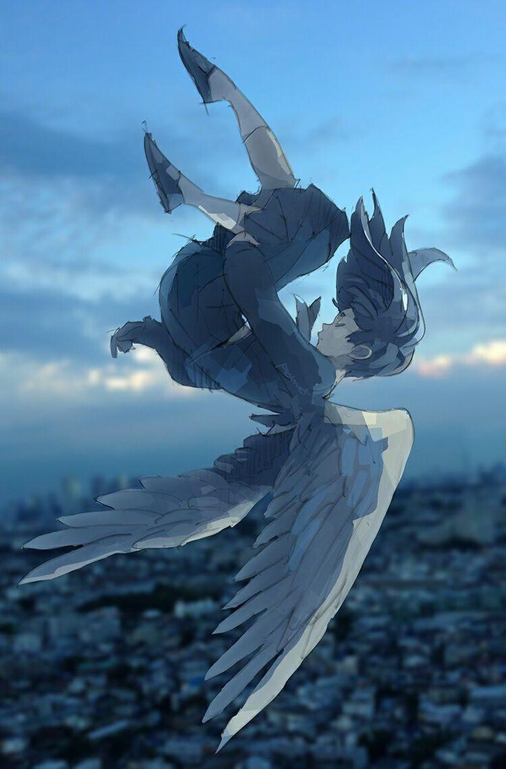 Wings fall down