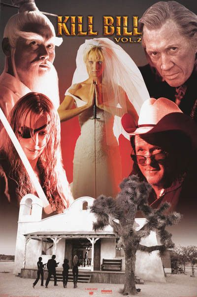 The Bride is Back! Uma Thurman continues her revenge quest to Kill Bill in the Volume 2 of Quentin Tarantino's classic film! An original poster published in 2004! Fully licensed. Ships fast. 24x36 inc