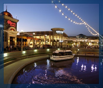 The Waterway/Woodlands Mall/Downtown Woodlands
