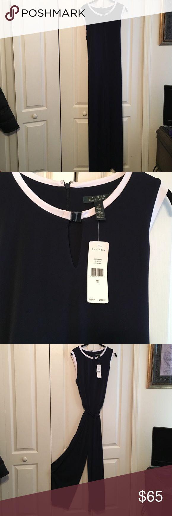 Lauren Ralph Lauren Blue Jumpsuit Size 1X NWT NWT Ladies Jumpsuit Size 14 Lauren Ralph Lauren Pants Jumpsuits & Rompers