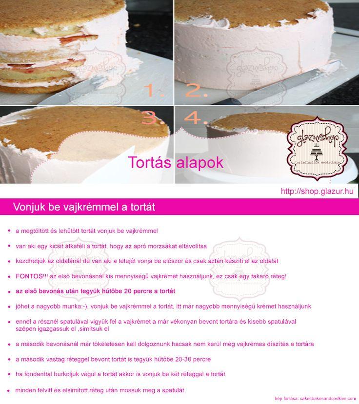 Vonjuk be a vajkrémmel a tortát! Na de hogyan? Itt olvashatjátok a tippeket…