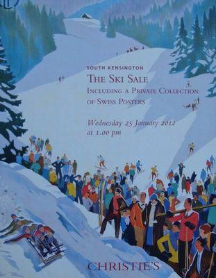 Christie's Auction Catalog : The Ski Sale 25-01-2012  -  Brenot, Broders, Cardinaux, Diggelmann, Dorival, Ernst, Giacometti, Hermès, Laubi, Moos, Peikert ...