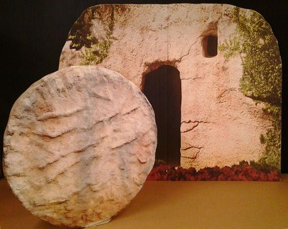 Tomb of Jesus Cardboard Cutout Standup Prop - Dino Rentos Studios, INC.