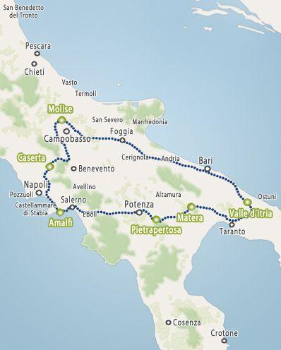 Bijzonder Bed&Breakfast Rondreis Zuid Italie - 15 days - rondreis campanie, agriturismo amalfi kust - VesuvioTour
