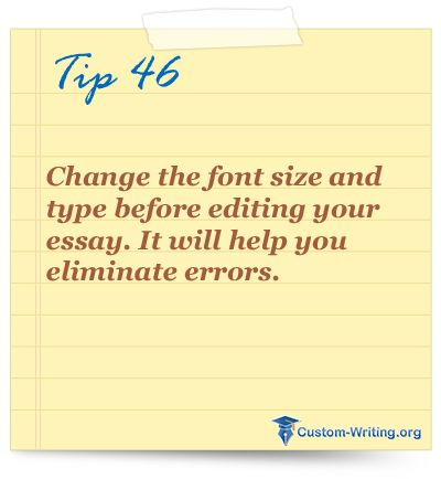 best college essay writing tips and life hacks images on change the font size and type before editing your essay it will help you eliminate