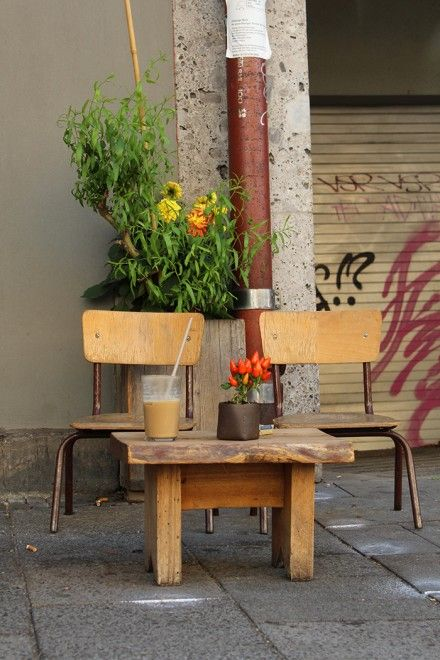 A little cafe in #Munich. Aroma Kaffeebar.