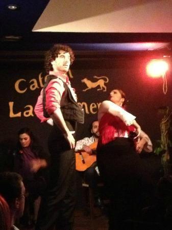Cafetin La Quimera - flamenco dinner theater