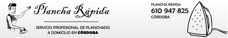 Desarrollo de web presencial para PLANCHA RÁPIDA. Plancha rápida a domicilio en Córdoba, planchado de todo tipo de prendas, pantalones, camisas, trajes, camillas, cortinas.