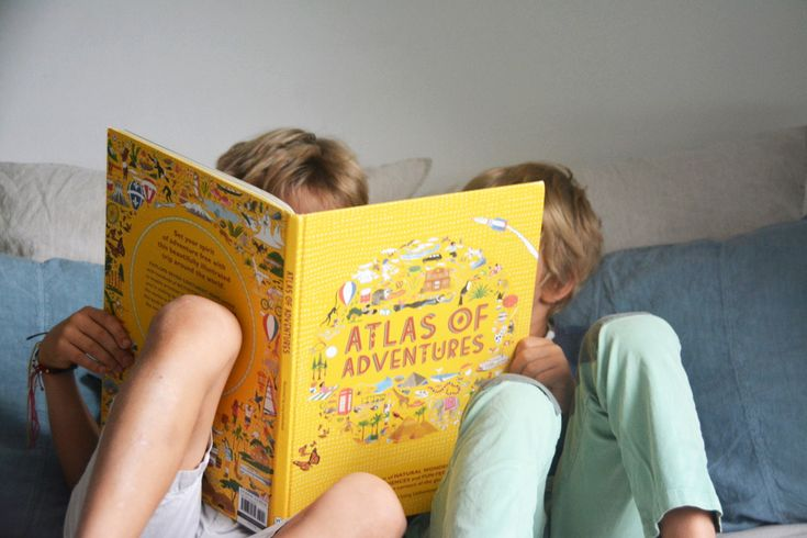 Atlas of Adventures, our new favourite book!