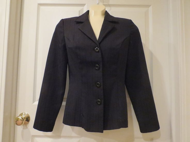 My Michelle Black Blazer 4 button, Tailored Fit Size 5/6 #MyMichelle #Blazer   MAKE AN OFFER ON ANYTHING IN THE STORE, ALL OFFERS CONSIDERED.