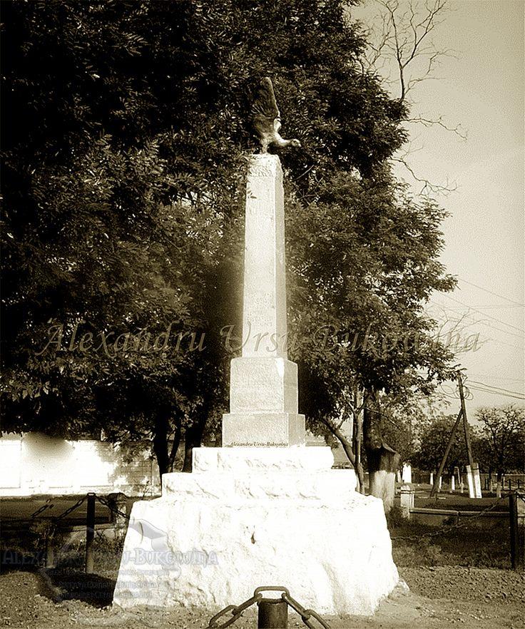 Plasa Bolgrad. Babele (General Al. Averescu). Monumentul ostașilor români.