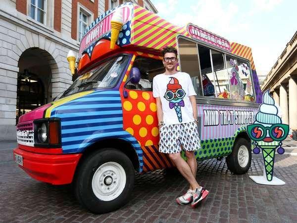 Fashion Food Trucks : Ice-cream van by house of holland