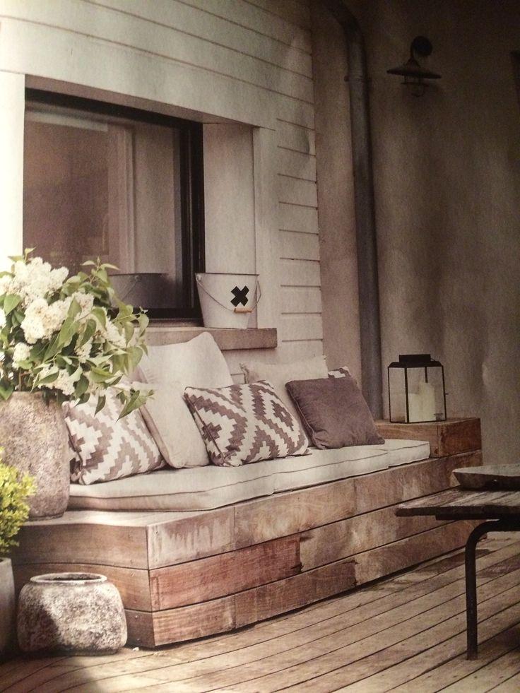 Hemmagjord soffa