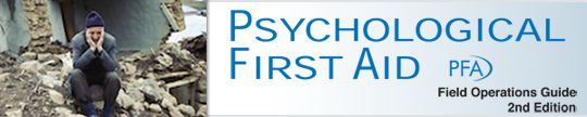 Psychological First Aid - website containing complete manual