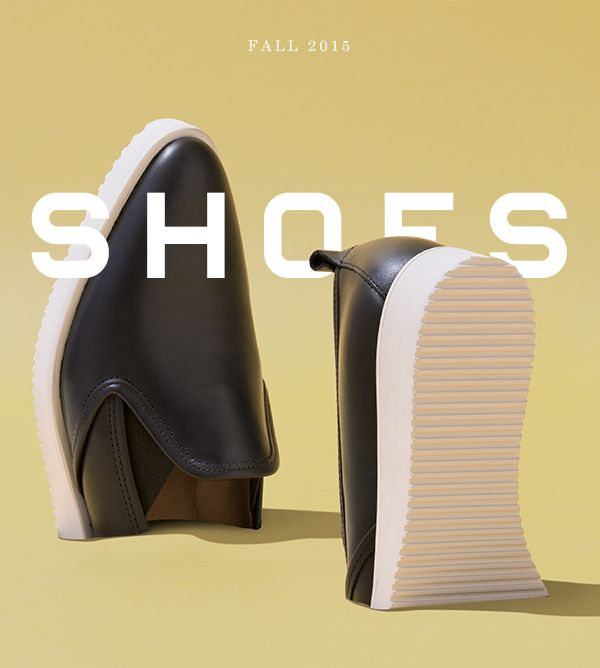 Fall 2015. Shoes.