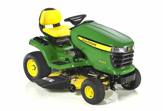 Ride into the #StPattysDay parade in style... with a John Deere X304!