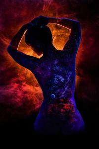 Criação Cósmica de Liz por John Poppleton