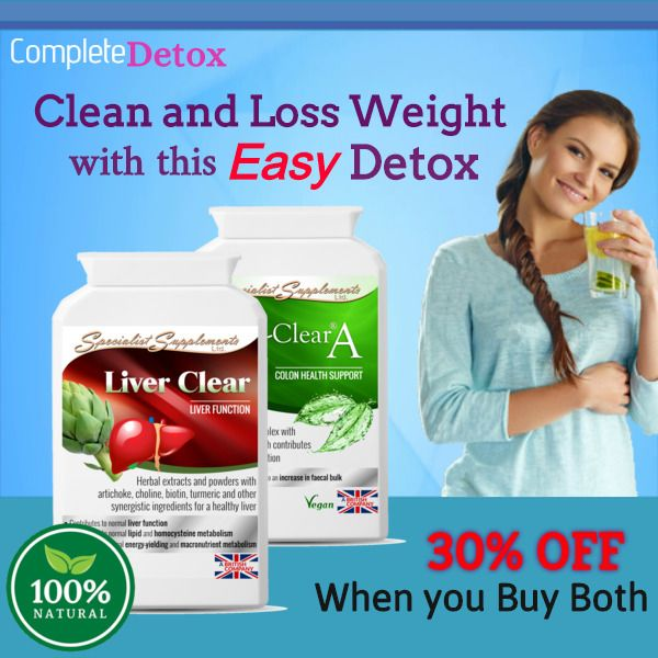 COLON/LIVER DETOX Weight Loss Tablets-Diet Pills-Weight Loss Slimming Pills-Now