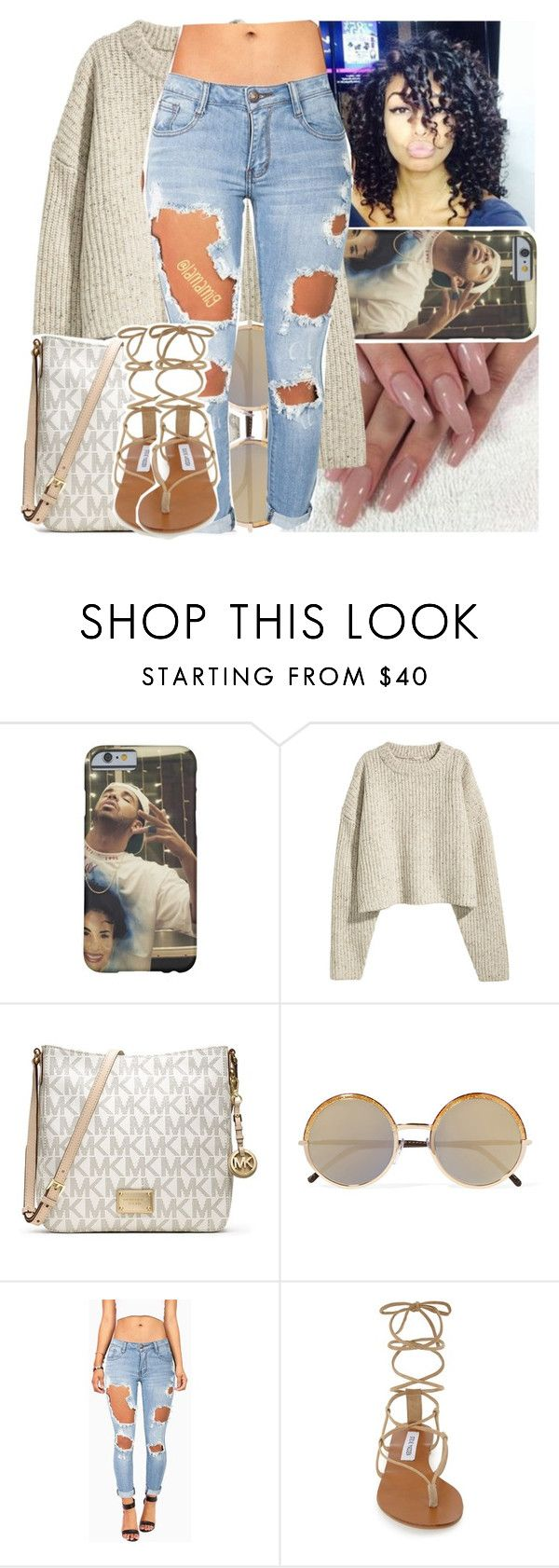 """""""girl, you got values like my momma. meet me at the altar"""" by lamamig ❤ liked on Polyvore featuring MICHAEL Michael Kors, Cutler and Gross, Machine and Steve Madden"""