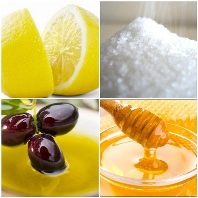 #Scrub viso al miele, zucchero e limone.    http://www.amando.it/bellezza/corpo/scrub-miele-fai-da-te-viso-corpo.html