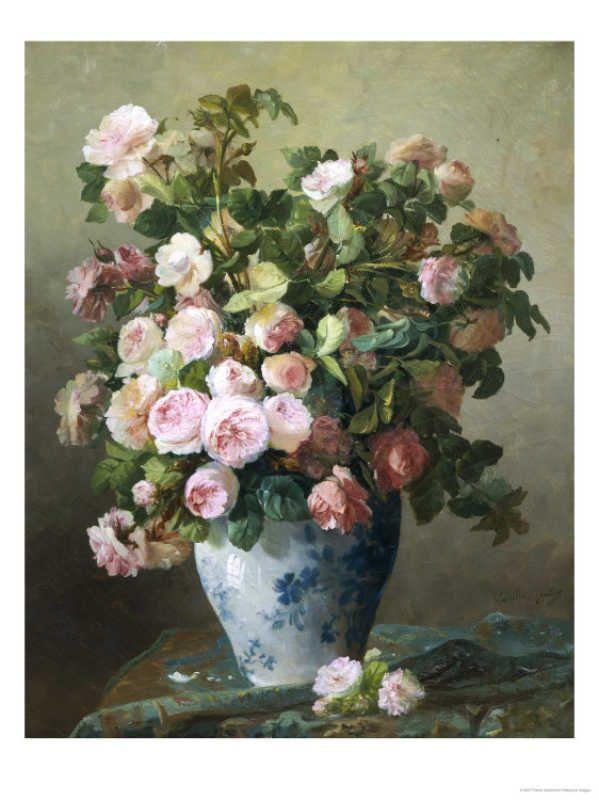 Still Life of Roses - Giclee Print