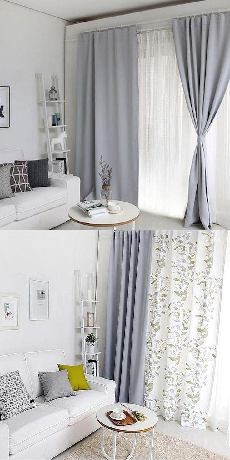 1x Drapery Panel Window Dressing Drape Wave Curtain Nursery Kids Children  Room 145 x 180cm 220cm