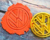 """Cookie cutter """" Logo . Volkswagen """" 10 cm"""