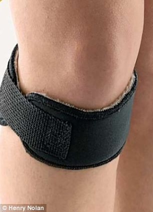 Wraparound magnet that may end the misery of restless leg syndrome which brings misery to millions of Britons