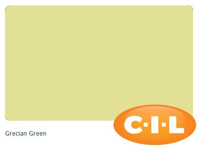 Look at this gorgeous CIL paint colour I found at CIL.ca!  It's Grecian Green 88YY 71/380.