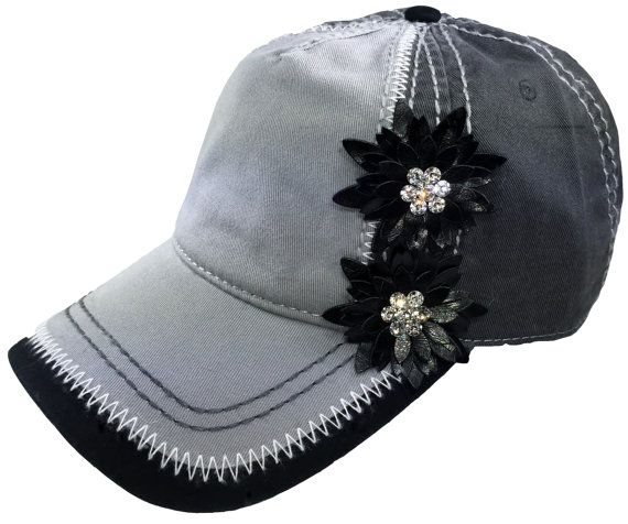 Women's Baseball Cap Embellished Baseball Cap Ladies