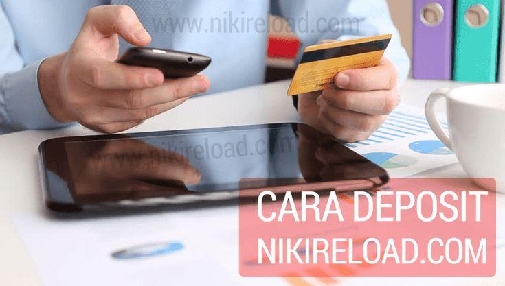 Deposit dapat dilakukan dengan 2 cara yakni secara TUNAI maupun NON TUNAI (TRANSFER BANK) dengan menggunakan Sistem Tiket SaldoTerinput atau Masuk Otomatis.