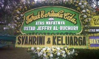 Karangan Bunga Duka Cita Ustadz Jeffry | Toko Bunga by Florist Jakarta
