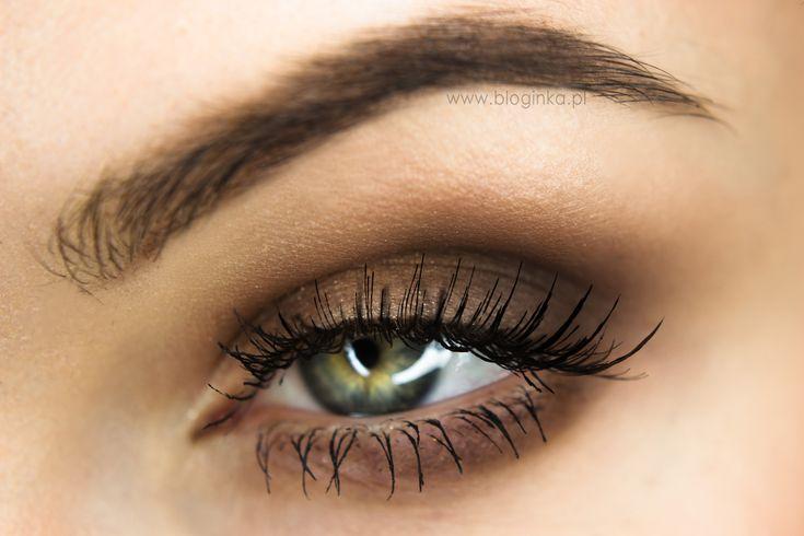 Makeup Geek Eyeshadows in Mocha, Shimma Shimma, and Vanilla Bean. Look by: Ewelina