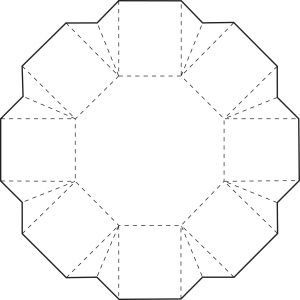 Octagon box template - interlocking?