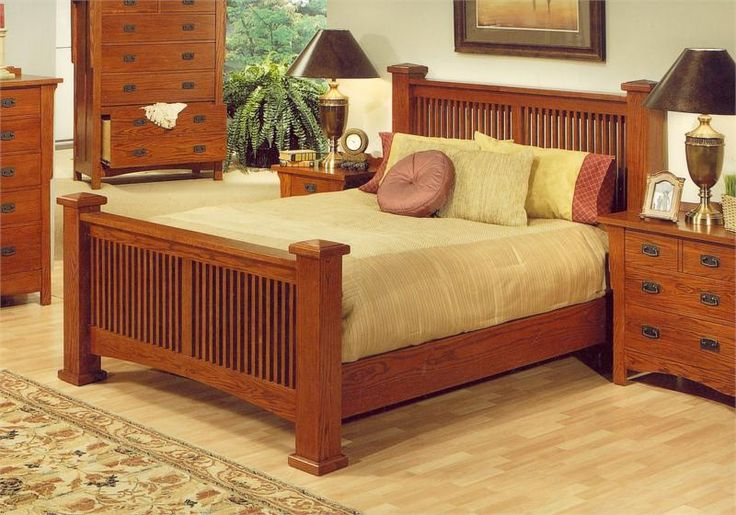Cherry mission bed plans woodworking projects plans for Mission bed plans