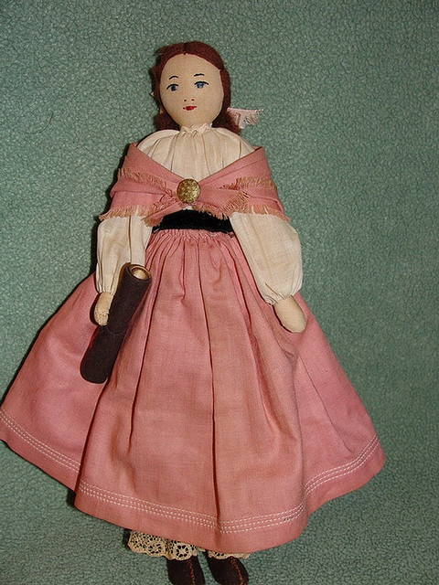 Edith Flack Ackley Doll by grannyinak, via Flickr