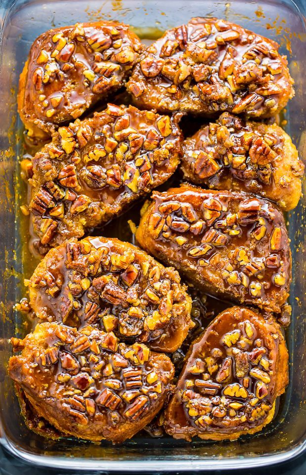 In a single day Pecan Pie French Toast