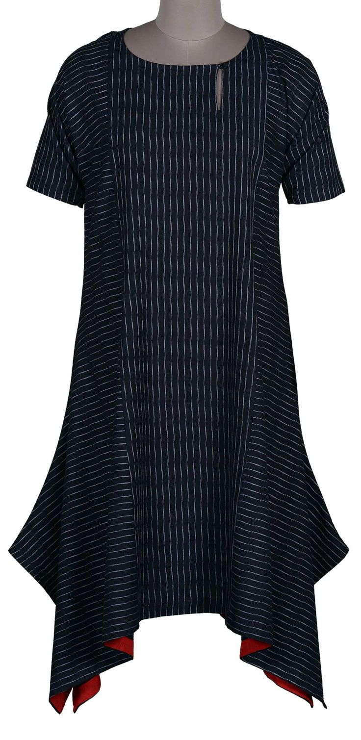 Ikat Choga Dress - Tunics | Dresses | Kurtas - Tops