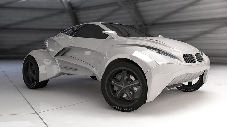 #BMW #Concept Car - Looks so #futuristic!
