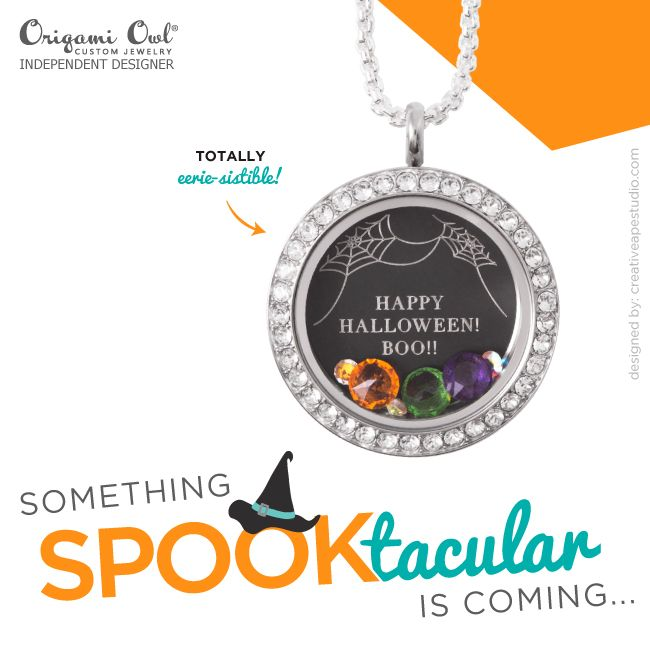 origami owl halloween images