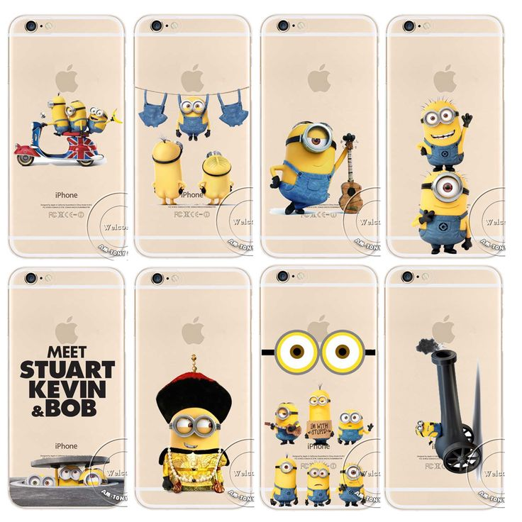 Minion play with Apple iPhone Funny Case Cover for iPhone 5/5s 6/6s 6 plus 6s +