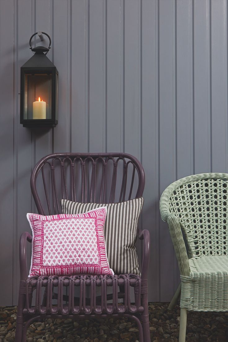 Add a new lease of life to old garden furniture with Cuprinol Garden Shades to create the perfect space for a catch up with friends and family.