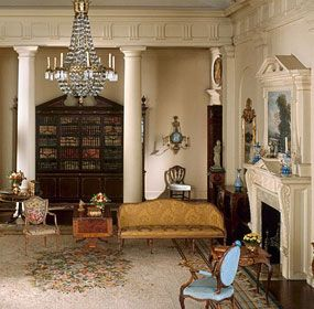 One of the 68 Thorne Miniature rooms at the Art Institute of Chgo.  I love miniatures and have made a dollhouse.  These were one of the sources of inspiration.