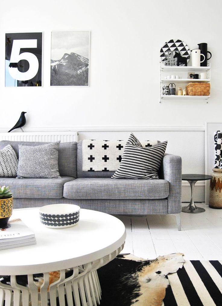 SIX SOFA STYLES Scandi style sofa