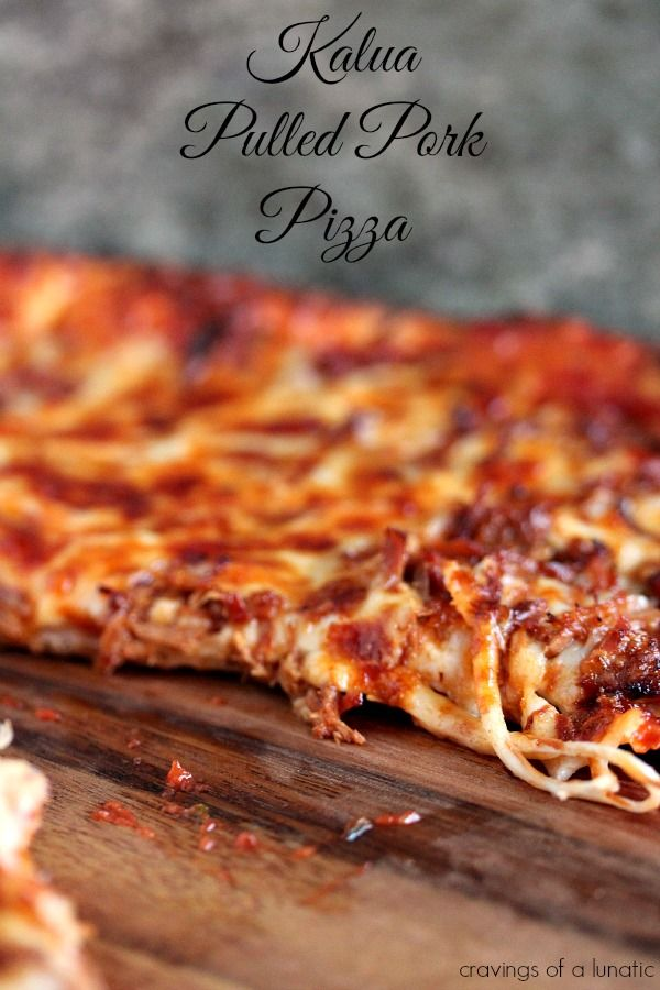 Pulled Pork Pizza | Cravings of a Lunatic | Super easy to make and very versatile.