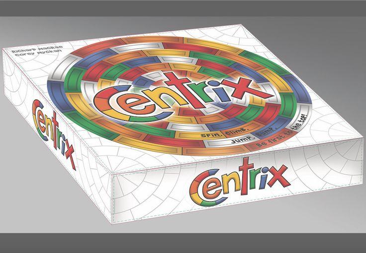 Centrix Box Art Unveiling, coming to Kickstarter February, 2018