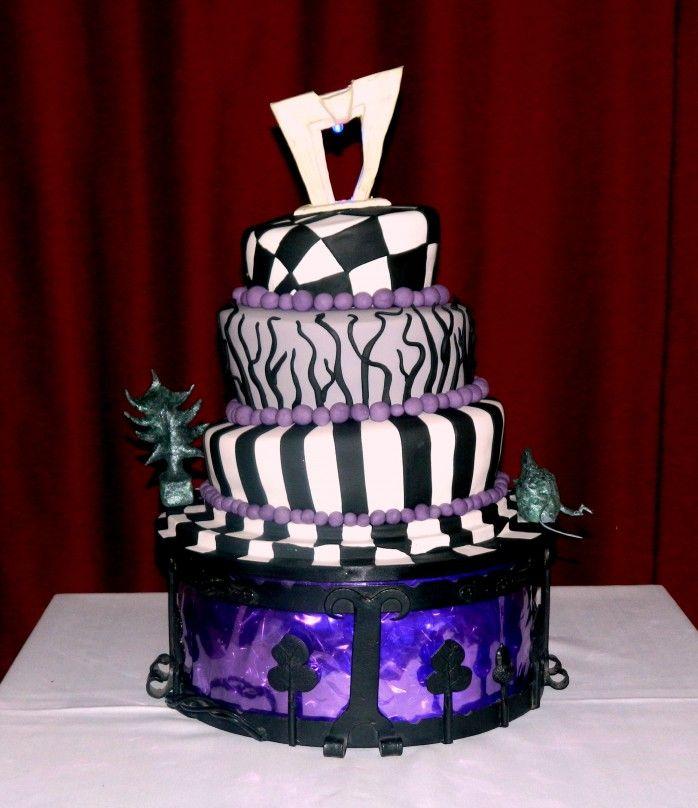 Sweet  Tim Burton Cake