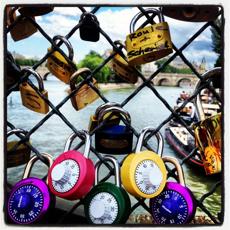 Padlocks a Paris!