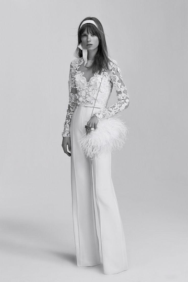 34 best Wedding Pantsuits images on Pinterest | Bridal gowns ...